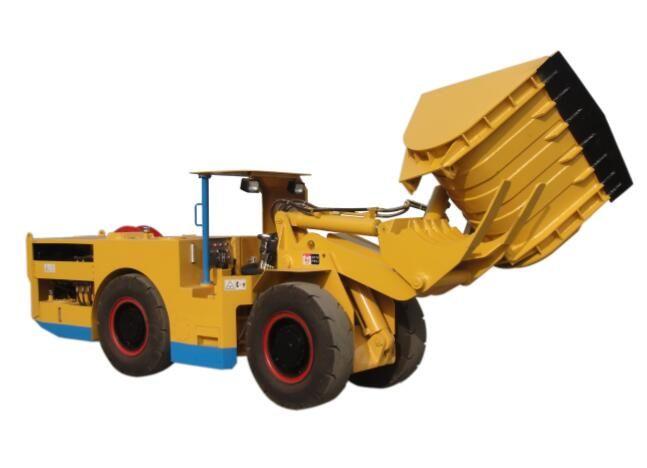 WJ-1C Internal Combustion Side-dump Scraper